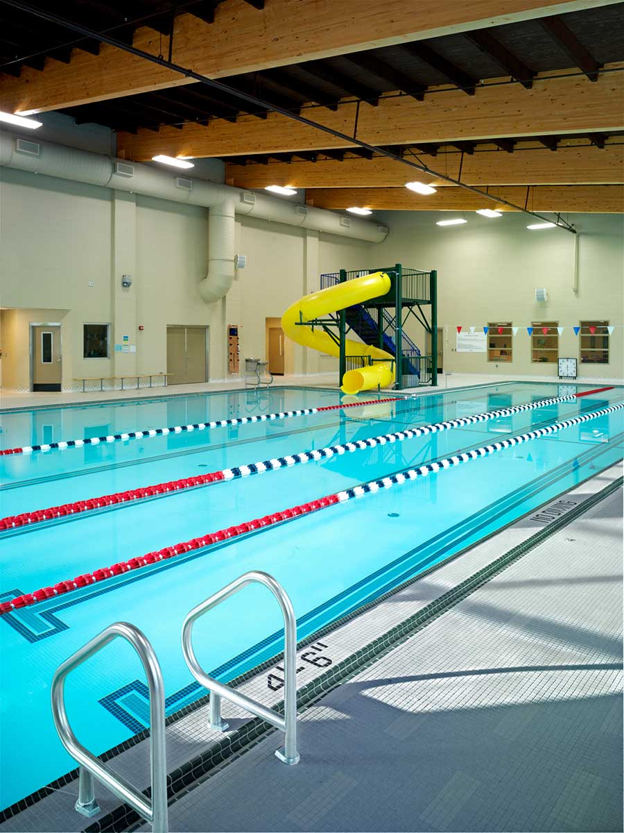 Ymca monroe family branch kirtley cole associates for Pool design education